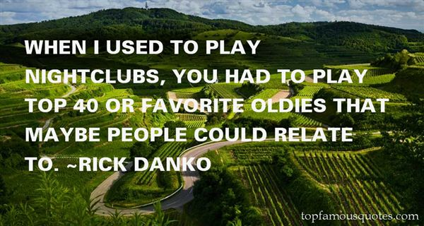Quotes About Oldies