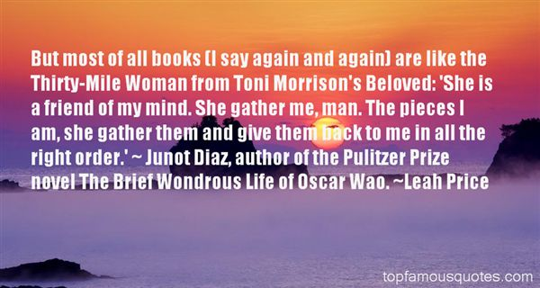 Quotes About Oscar Wao