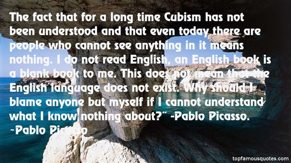 Quotes About Pablo Picasso