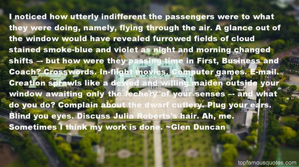 Quotes About Passengers