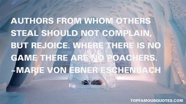 Quotes About Poachers