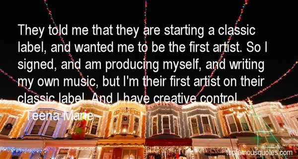 Quotes About Producing Music
