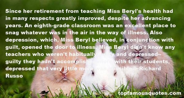Quotes About Retirement Teachers