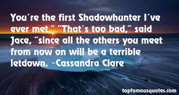 Quotes About Shadowhunter