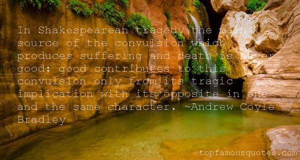 Quotes About Shakespearean Death