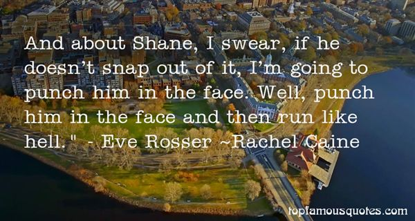 Quotes About Shane