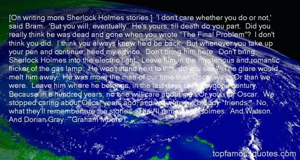 Quotes About Sherlock Holmes And Watson
