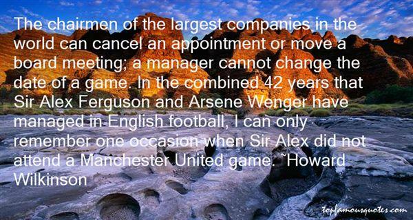Quotes About Sir Alex Ferguson