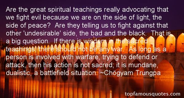 Spiritual Warfare Quotes: best 3 famous quotes about