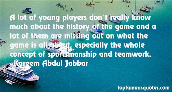 Quotes About Sportsmanship