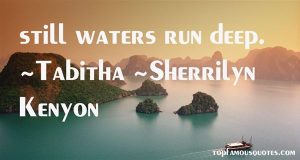 Quotes About Still Waters