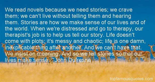 Quotes About Story Plots