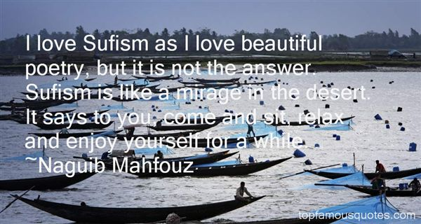 Quotes About Sufism Love