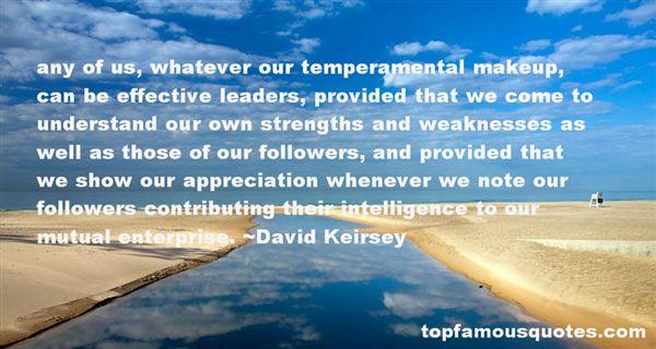 Quotes About Temperament