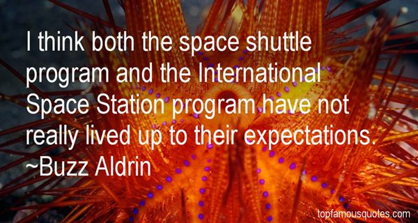 Quotes About The Space Shuttle Program