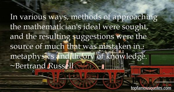 Quotes About Theory Of Knowledge
