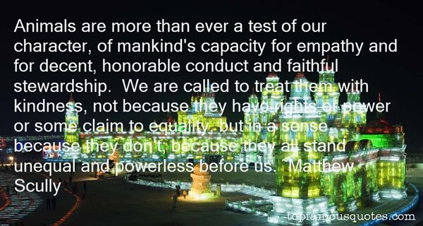 Quotes About Unequal Power