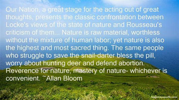 Quotes About Views Of Nature