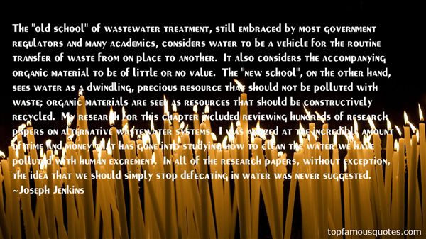 Quotes About Water Resources