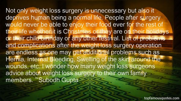 Quotes About Weight Loss Surgery