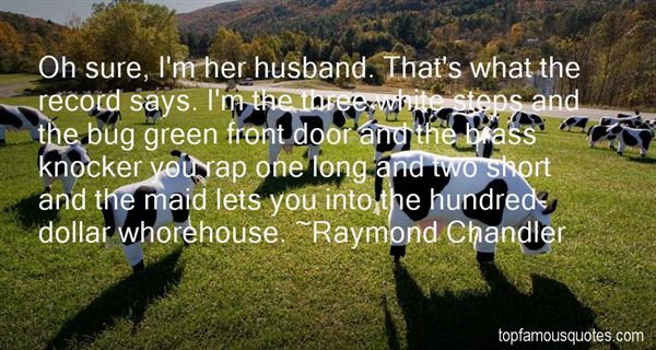 Quotes About Whorehouse