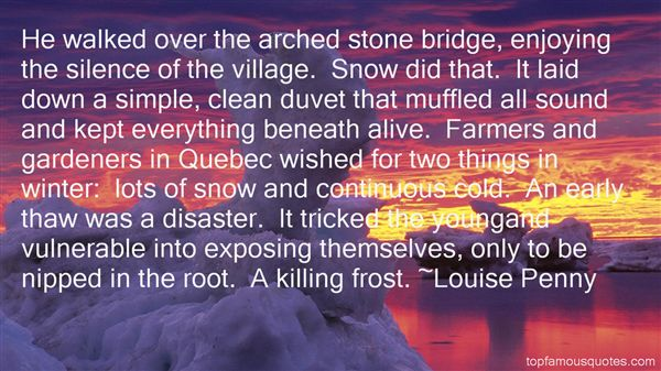 Quotes About Winter Thaw