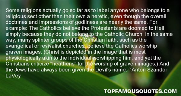 Quotes About Worshipping The Devil