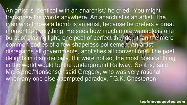 Quotes About Anarchist Government