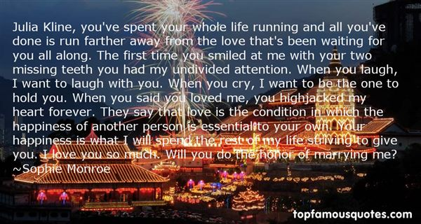 Quotes About And Love