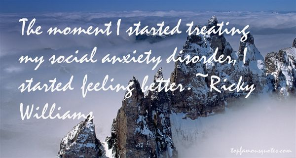 Quotes About Anxiety Disorder