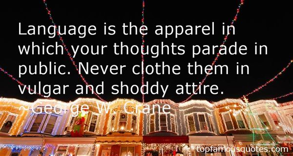 Quotes About Apparel