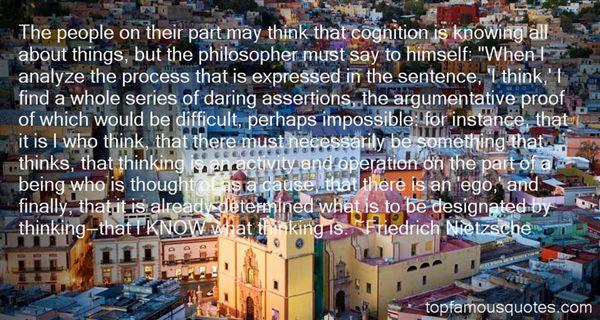 Quotes About Argumentative