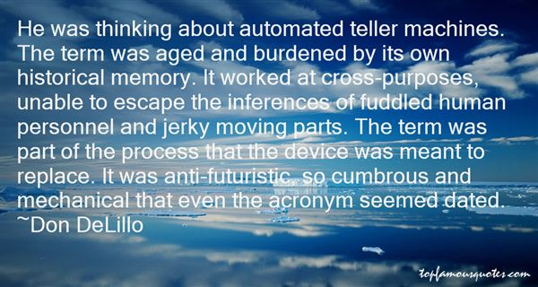 Quotes About Automated