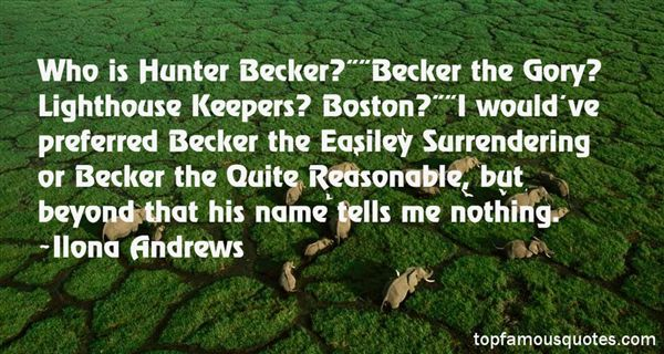 Quotes About Becker