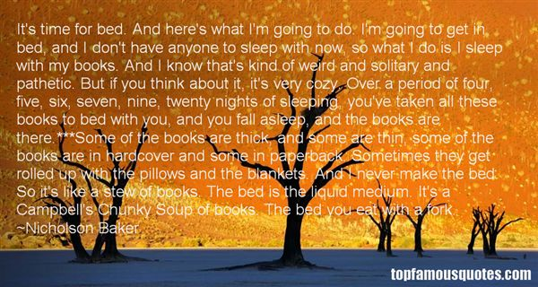 Quotes About Bed And Sleeping