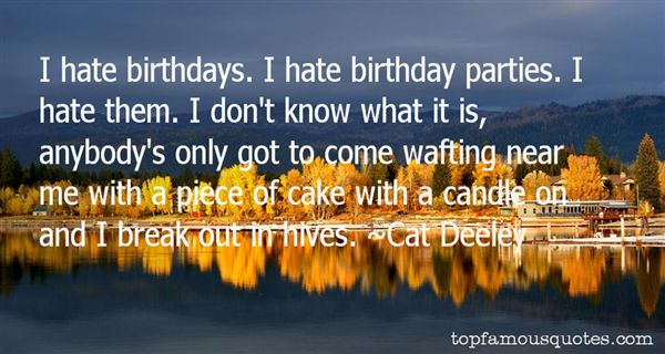 Quotes About Birthday Parties