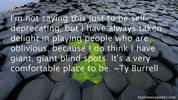 Quotes About Blind Spots