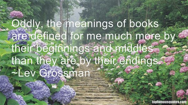 Quotes About Book Endings