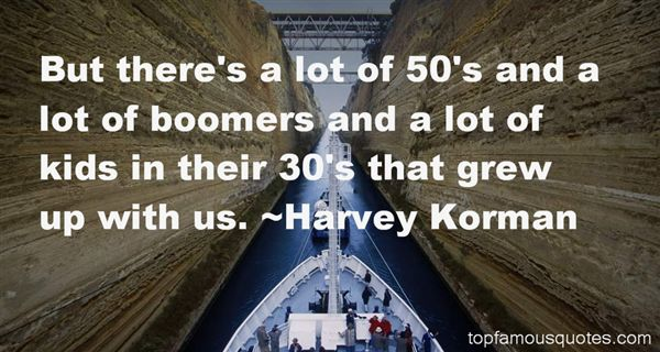 Quotes About Boomers