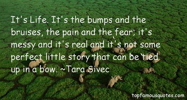 Quotes About Bumps And Bruises