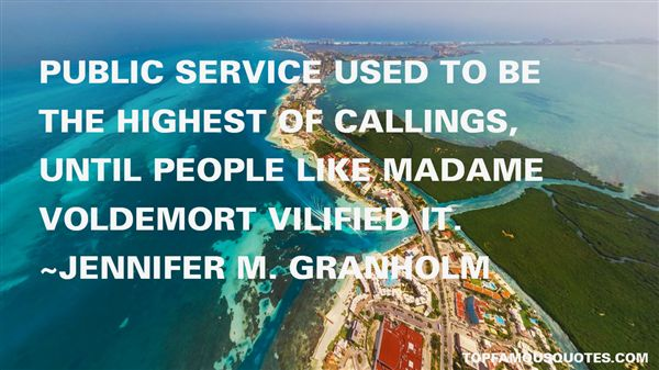 Quotes About Callings
