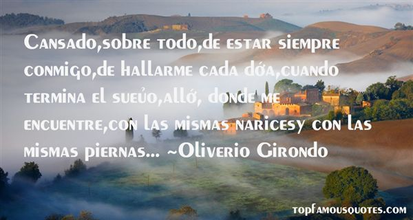 Quotes About Cansado