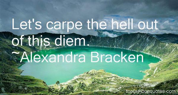 Quotes About Carpe Diem