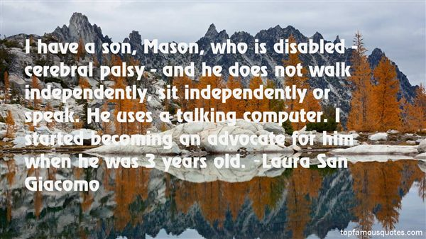 Quotes About Cerebral Palsy