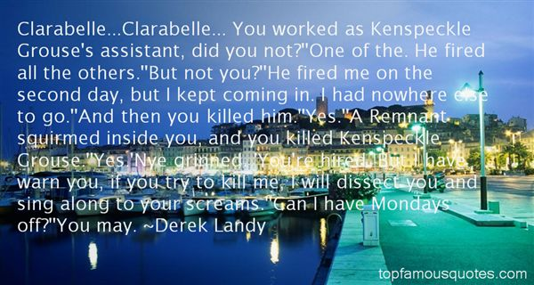 Quotes About Clarabell