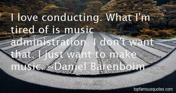 Quotes About Conducting Music