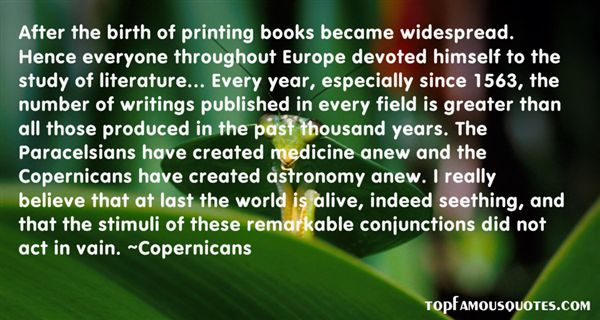 Quotes About Copernicans