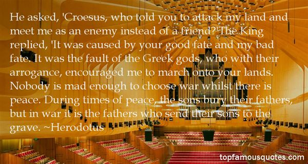 Quotes About Croesus