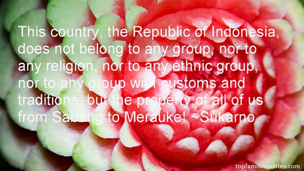 Quotes About Customs And Traditions