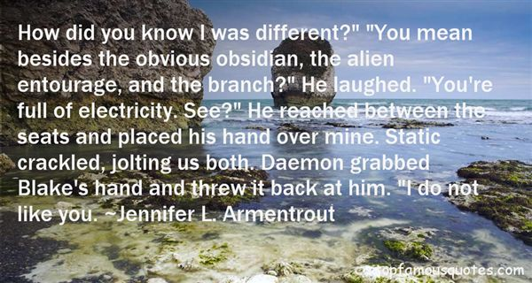 Quotes About Daemon